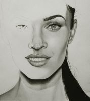 Megan Fox WIP1 by PriscillaW