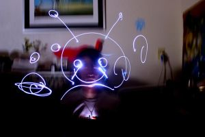 light painting by nardsketch