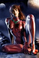 Asuka - Commission by RaffaeleMarinetti