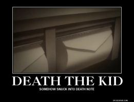 Death the Kid - Demotivational Poster by GuitarGirl99f