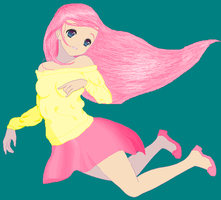 Humanized Fluttershy by Sm-fan21