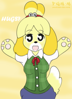 Isabelle Hug - Surprise gift by P-Manwag
