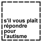 French Please Cater For Autism Stamp by dev-catscratch