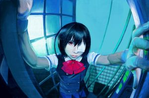 Another Cosplay Misaki by fedde