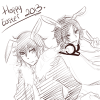 .:Happy Easter:. by Hika151