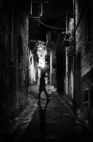 Alone into the darkness by bullone65