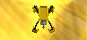 Construction Droid Top View by mafia279