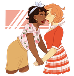 some retro lesbos by 5KidsEntertainment