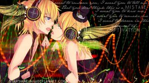 Magnet-Rin and Len Kagamine by starshine1565