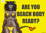 Are you beach body ready? by KukuruyoArt