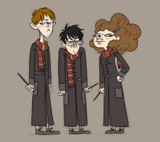 Potter Kiddies by trufflefunk