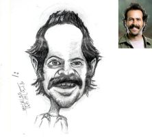 Jason Lee Caricature by J-a-z-z-z