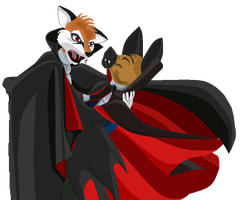 Comission - Vampire Waltz by argenholydrake