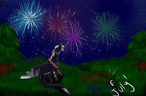 Happy 4th of July! by CalamitousA