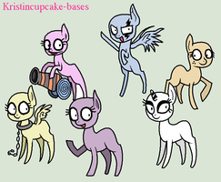 Creepy Ponies - Base #34 by Kristincupcake-bases