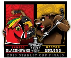 2013 NHL Stanley Cup Final by Epoole88
