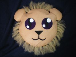 Lion Pillow by catgirl5472