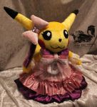 Cosplay Pikachu Popstar Plush - Pokemon by Forge-Your-Fantasy