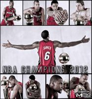 MIAMI HEAT- NBA CHAMPIONS 2012 by carmelosidd