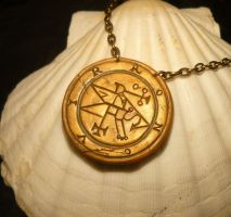 Seal of Ronovir - handmade Amulet for Ucaliptic by Ganjamira