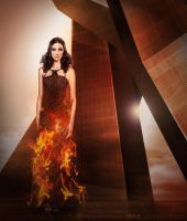 Katiss Catching fire by YlianaKapella-Neidon