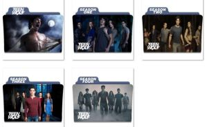 Teen Wolf Folder Icons by nellanel