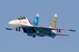 Sukhoi Su-27 by FPSRussia123