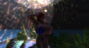 Independence Day Fireworks 2 by Giantess-Cassie