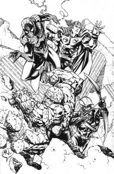 NEW FF Inked by RudyVasquez
