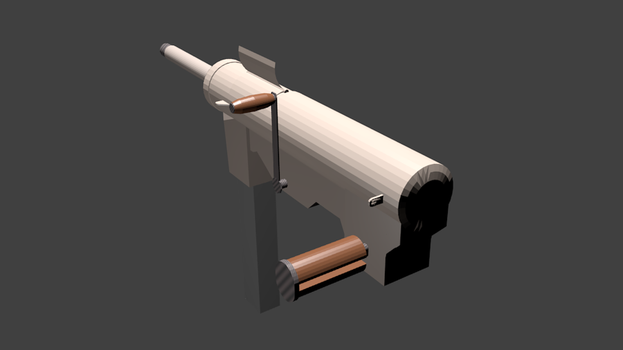 M3A2 Grease Gun for Fallout: Equestria (Model) by SgtMuffin