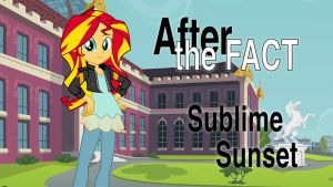 After the Fact: Sublime Sunset by MLP-Silver-Quill