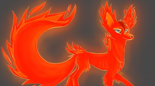 Flame by wolf--eyes