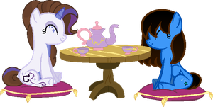 COLLAB: Tea party time by Starlollipop