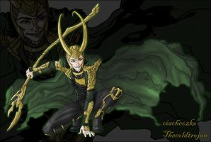 The God Of Mischief by Thecoldtrojan