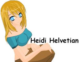 Heidi Helvetian by Harry026Husky