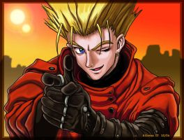 Vash the Stampede for Louie by AthenaTT