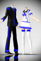 [MMD Download] Diancie`s School Uniforms! by Supurreme