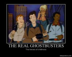 The Real Ghostbusters by Dante-564