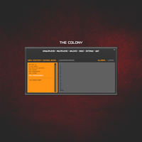 The Colony Menu WIP by Proxone