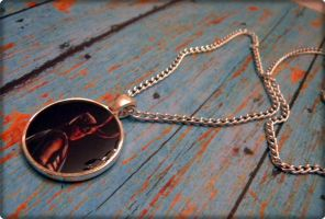 Loki Necklace - Silver by cyborgseamstress