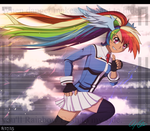 Equestria's Awesome Rainboom by Aloubell