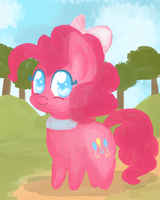 Pinkie pie improved by Cookie-fish