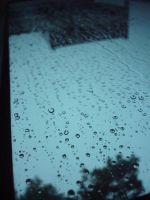 raindrops on my window by blubooelle