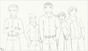 PBS Project Cast - Sketch by jacquelynfisher