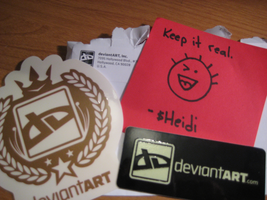 Deviant Stickers by Whiim