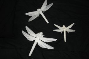 Dragonfly prototypes by origami-artist-galen