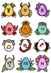 Zodiac Eggs Auction - open by 102vvv