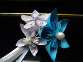 Skaia inspired Boutonniere by Nightmareswithin