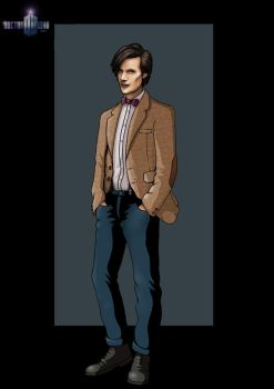 11th doctor by nightwing1975
