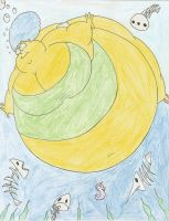 COM Large Marge under the sea by Robot001
